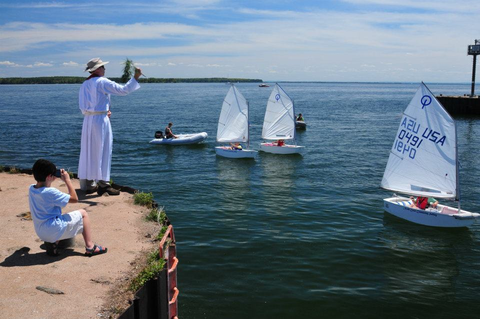 Bayfield Presbyterian Church, ecumenical Blessing of the Fleet, June 2012