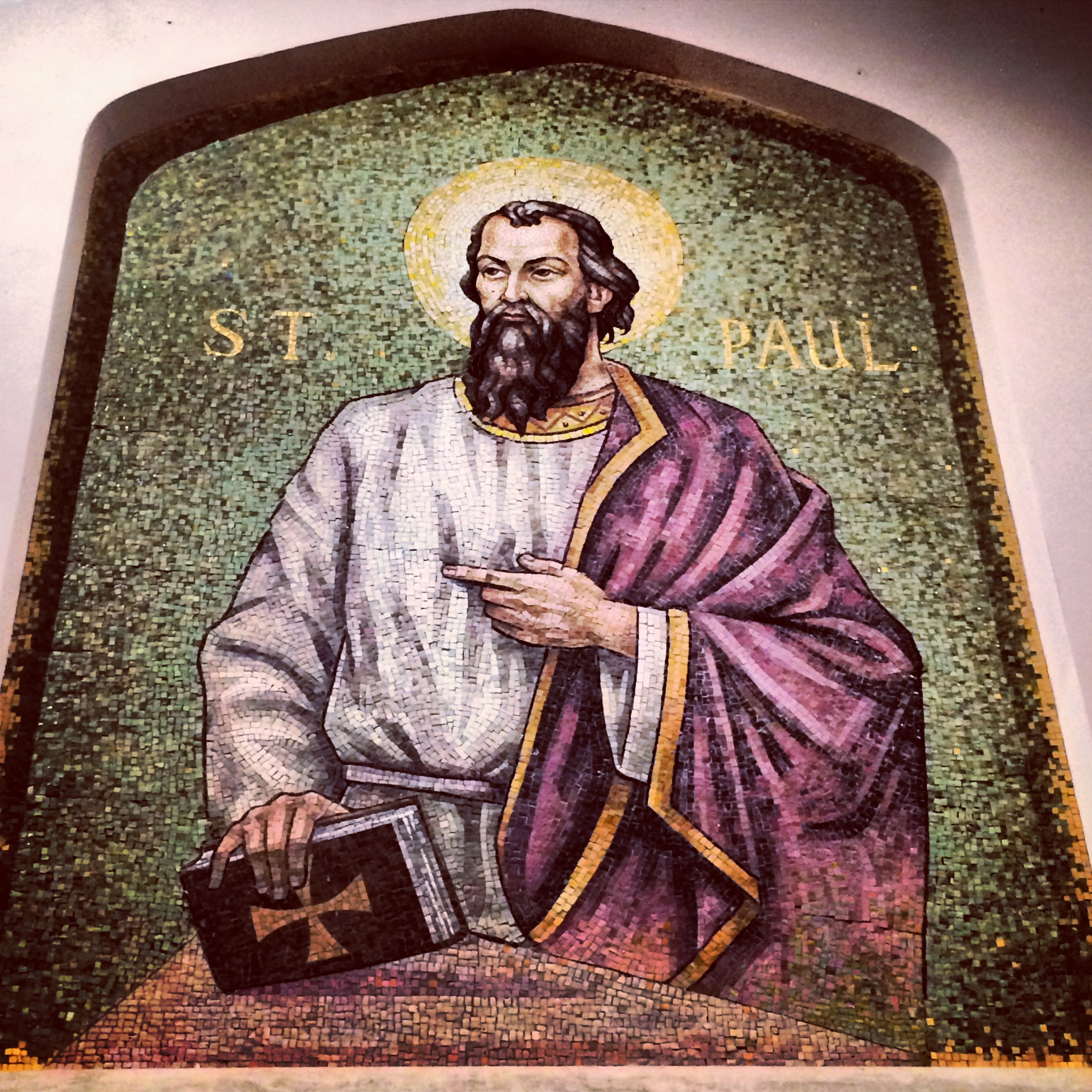 Mosaic of St. Paul