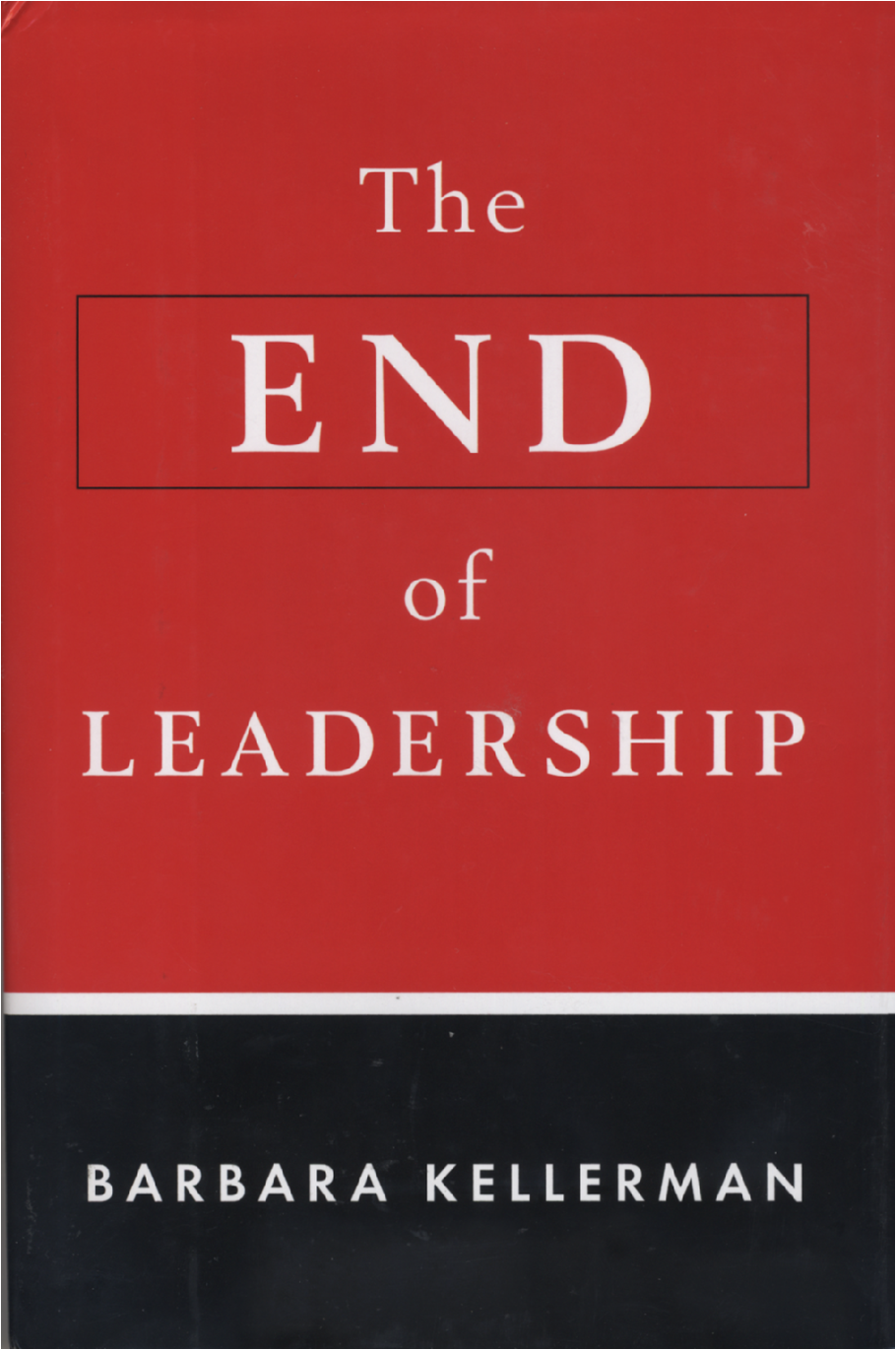 The End of Leadership book cover