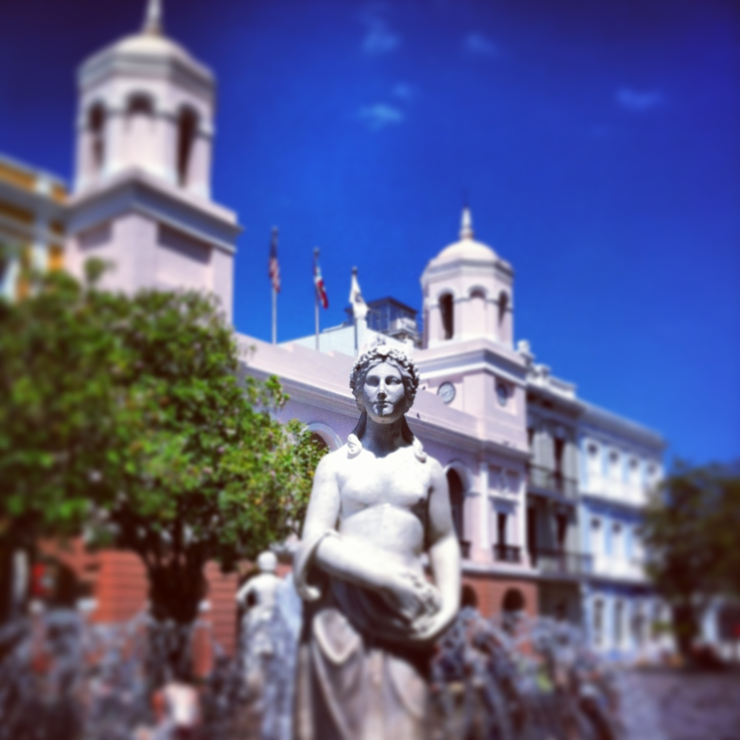Picture of the Plaza de Armas, Old San Juan
