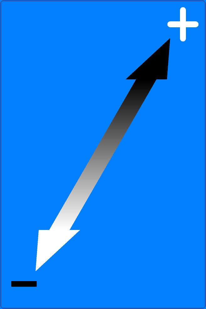 Arrow indicating Polarity