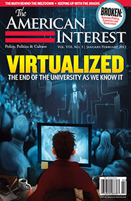 Cover of American Interest magazine