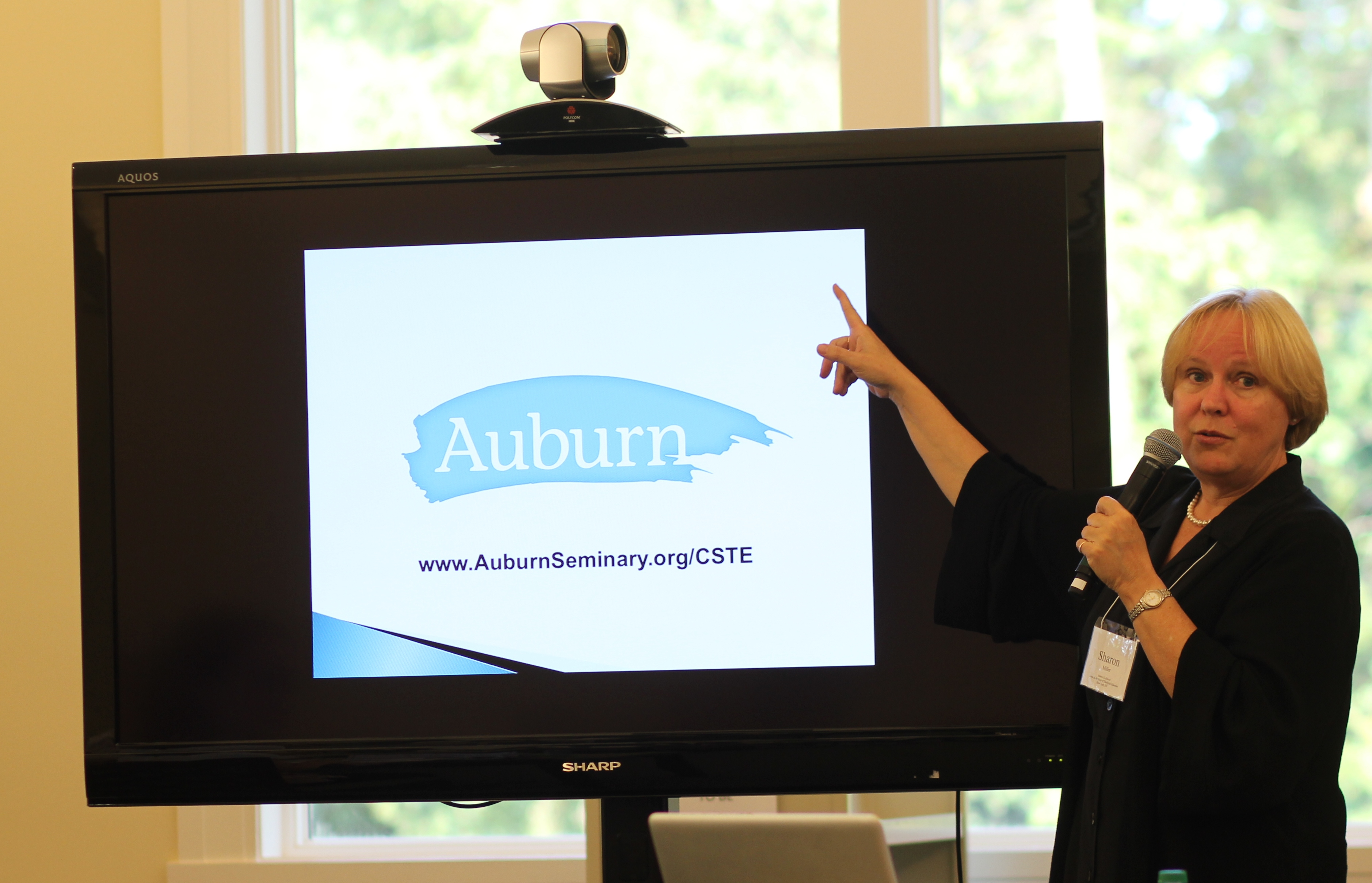 Sharon Miller presents Auburn Study at COTE 2013 fall meeting