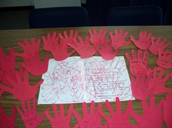 Red Hands from House of Hope