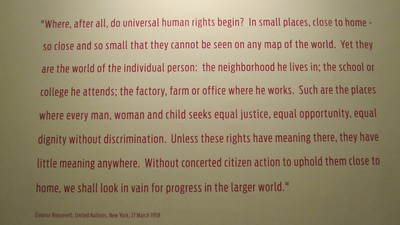 Eleanor Roosevelt Quote on Human Rights