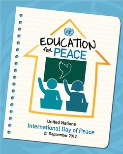2013 International Day of Peace Logo