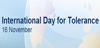 International Day for Tolerance Banner