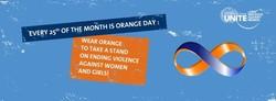 UNiTE Orange Day Banner
