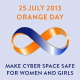 25 July 13 Orange Day logo