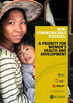 Cover of report on Women and Non-communicable diseases