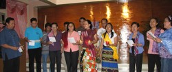 Singing group in the Philipines
