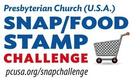 Snap/Food Stamp Challenge logo
