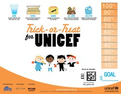 Trick-or-Treat for UNICEF logo