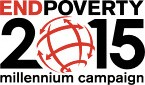 End Poverty 2015 Millennium Campaign logo