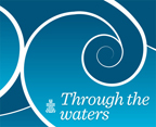 Through the waters logo
