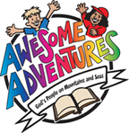 Logo: Awesome Adventures - God's People on Mountains and Seas