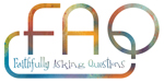 FAQ (Faithfully Asking Questions) Logo