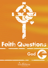 Faith Questions: Church cover (bright orange with a white cross and letters)