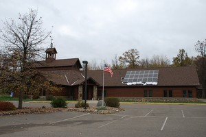 Crossroads Presbyterian Church solar panels