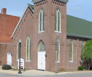 <p>First Presbyterian is a diverse and inclusive con­gregation that worships God in a more traditional style, reaches out to the community in many ways, fellowships together, supports one another in faith and life, and seeks to follow our living Christ in life and service.</p>