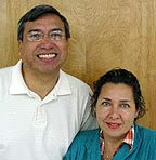 Photograph of Salvador and Irma de la Torre.