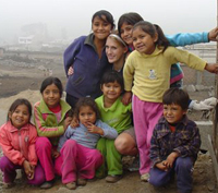 Photo of children smiling for the camera