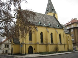 Photo of a church building from the outside.