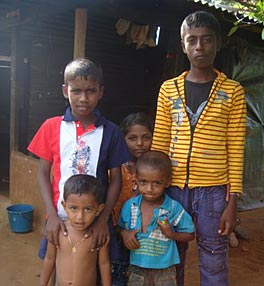 Photo of several children.