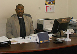 Qes (Rev) Teferi - Coordinator for the Bethel Synods Coordination Office