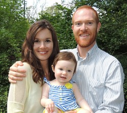 Ryan and Alethia White with their daughter
