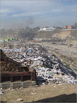 Guatemala City dump Photo by Annie Aeschbacher