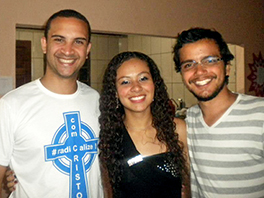 Pedro, Jhenifer, and Pablo in Vitória, Brazil Photo by Pedro Lisias Silva