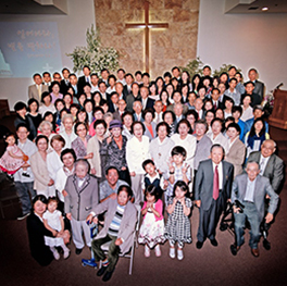 New Praise Church, Easter morning 2013 photo by Rev. YunSun Byon