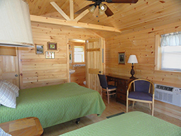 New adult friendly cabin at Camp Krislund