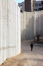 Separation Wall.