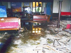 Assistance sought for the churches recently damaged by fire.