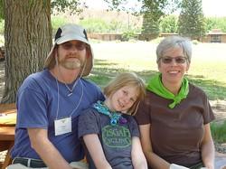 John, Jessie, and Carol Dodson.