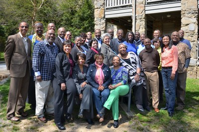 Group of African American pastors and leaders
