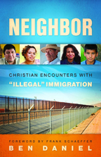 "Cover of the book, ""Neighbor"" by the Rev. Ben Daniel"