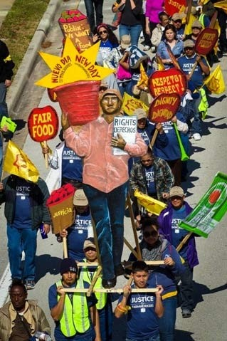 The Coalition of Immokalee Workers and faith partners are marching 200 miles in support of social responsibility and farm labor reform.