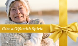Give a Gift with Spirit logo