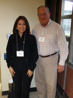 Brenda Trinidad Espitia and David Thomas, the PC(USA)'s regional liaison to Mexico.