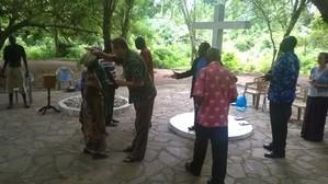 Healing service Ghana