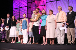 Mission co-workers and Young Adult Volunteers were commissioned July 13 at the Churchwide Gathering of Presbyterian Women.