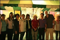 The staff of the Church of Christ in Thailand AIDS Ministry (CAM).
