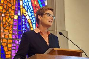 The Rev. Dr. Leanne Van Dyk.
