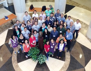 Participants at the National Asian Presbyterian Council gathering held prior to Big Tent 2015 in Knoxville, Tenn.