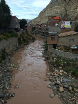 La Oroya is a small mining town in Peru. Toxic emissions and wastes have resulted in high concentrations of lead poisoning, especially among children.