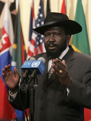 South Sudanese President Salva Kiir.