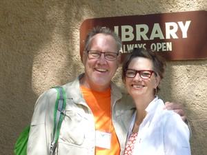 Tim and Beth Hart-Andersen.
